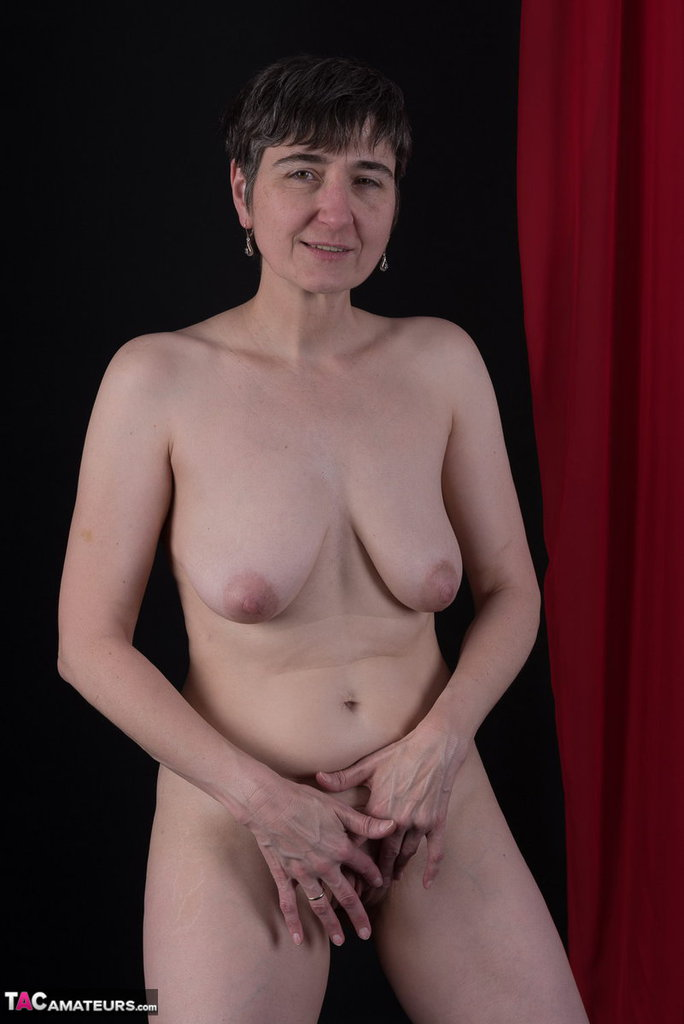 Young German Milf takes her clothes off so you can jerk off to her